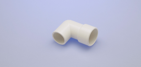 "Elbow Air Control 3/4"" X 1"" 90 Degree Pvc"