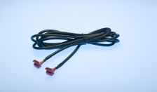 "Cable 6"" 4 Connector 22AWG"